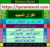 Quran-excel | Easy Understanding and Learning of Holy Quran with